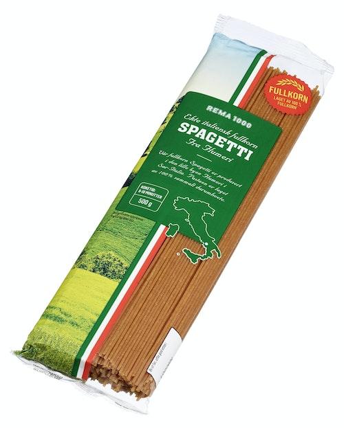 REMA 1000 Fullkorn Spaghetti 500 g