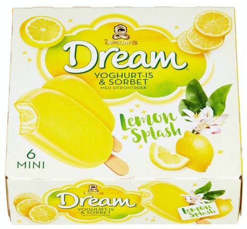Diplom-Is Dream Lemon Mini 6 stk
