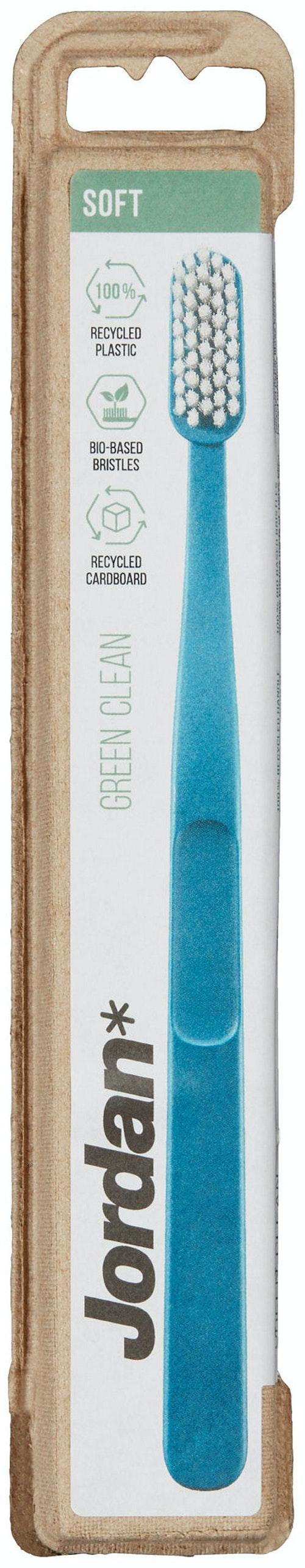 Jordan Jordan Tannbørste Green Clean Soft, 1 stk