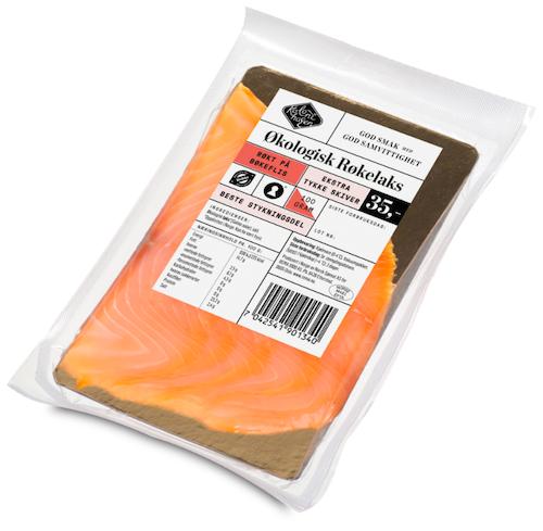 Kolonihagen Laks Røkt Økologisk, 100 g
