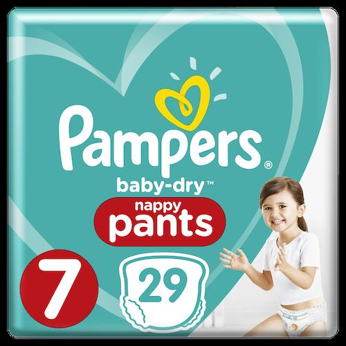 Pampers Pampers Bleie Baby Dry Pants Str.7 15+kg, 29 stk