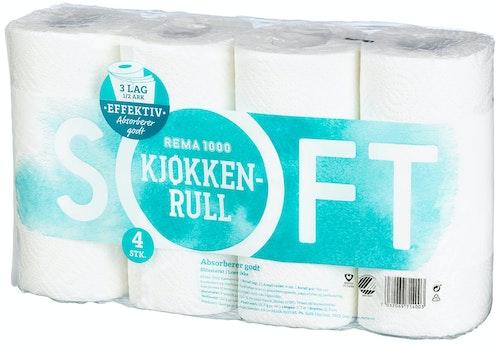 REMA 1000 Kjøkkenrull 4 stk