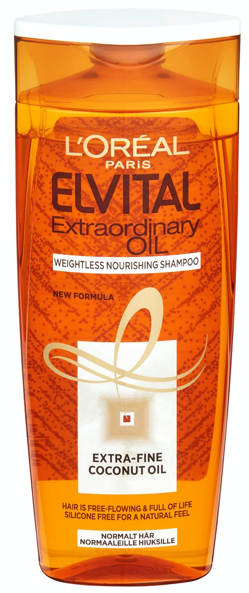Elvital Extra Fine Coconut Oil Shampo ElVital, 250 ml