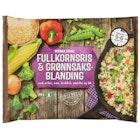 Fullkornsris & Grønnsaker