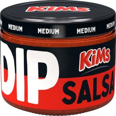 Kims Salsa Dip Medium, 240 g