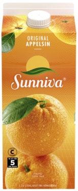 Sunniva Original Appelsinjuice 1,75 l
