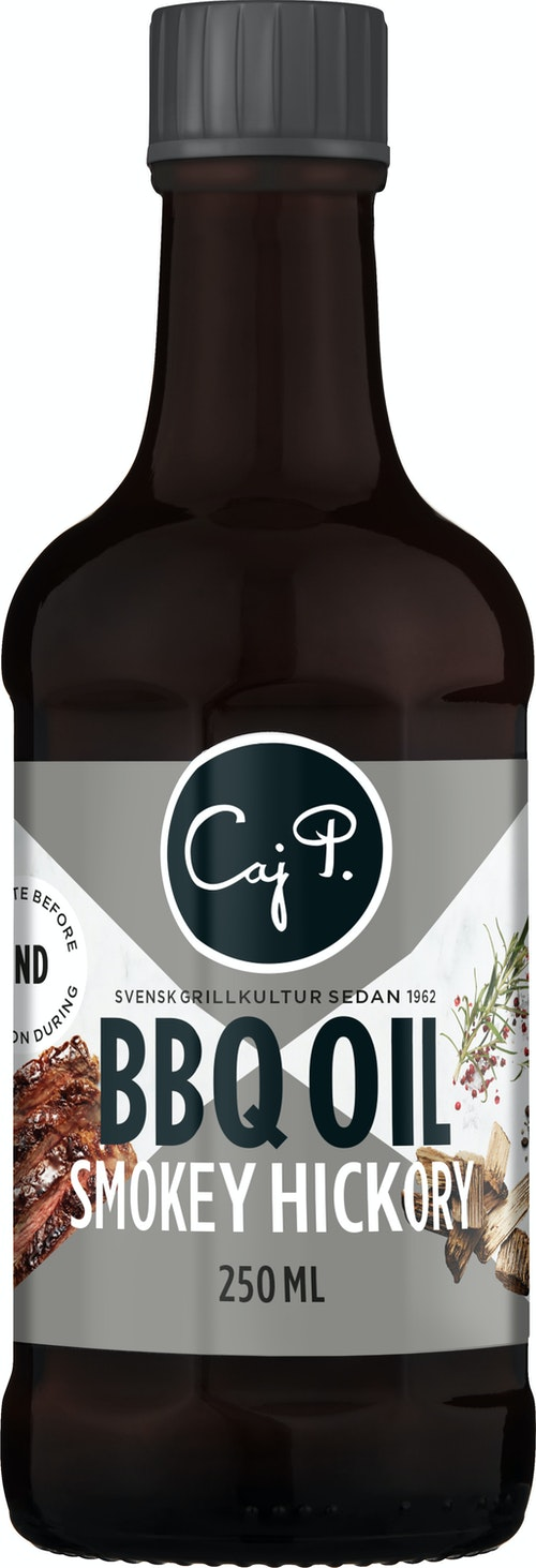 Caj P BBQ Oil Smokey Hickory 250 ml