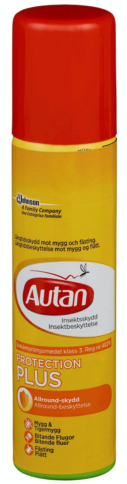 Autan Protection Plus Aerosol Insektbeskyttelse, 0,1 l
