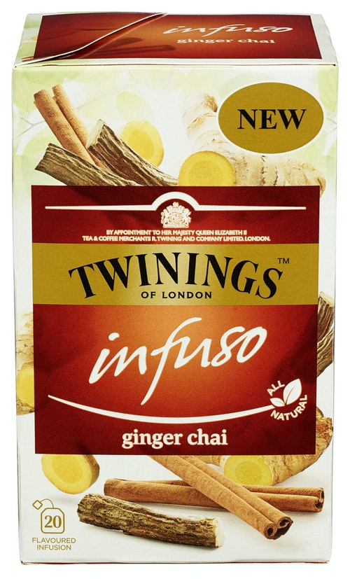 Twinings Ginger Chai Infuso, 20 stk