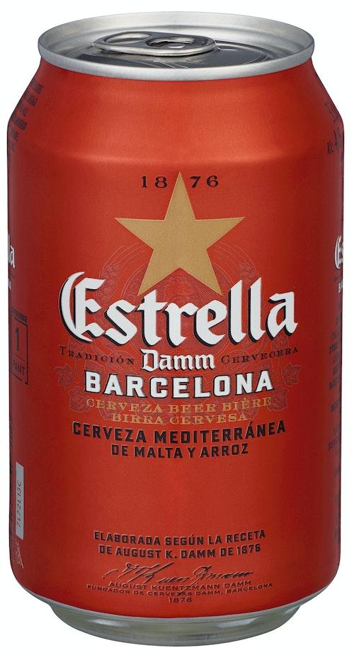 Estrella Estrella Damm 0,33 l