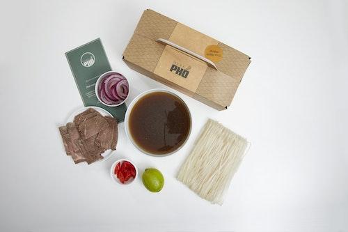 Mamapho Pho Restaurantkit, kjøttsuppe 1 stk