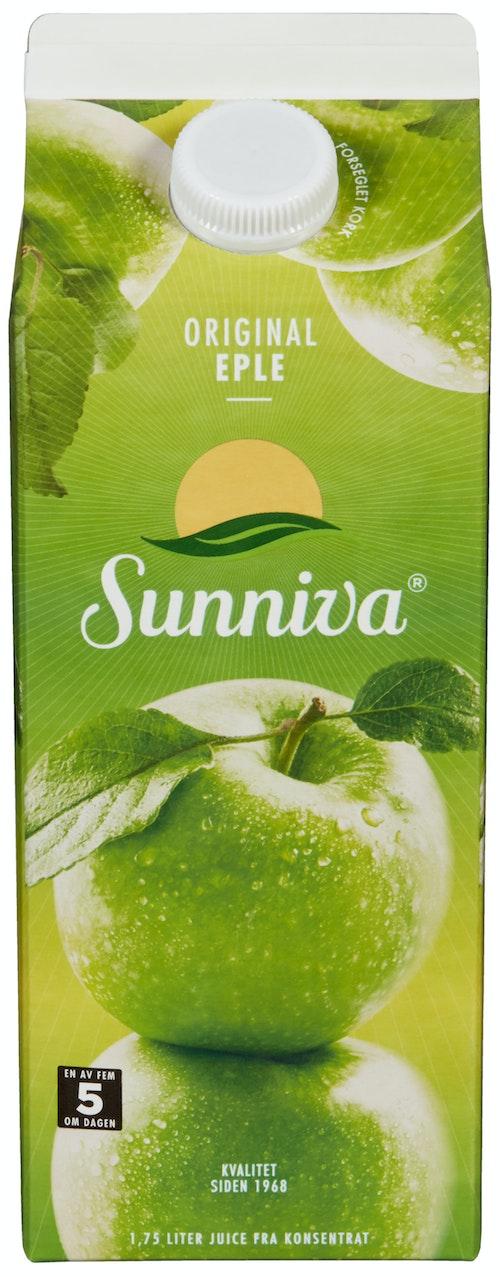 Sunniva Original Eplejuice 1,75 l