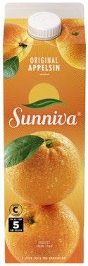 Sunniva Original Appelsinjuice 1 l