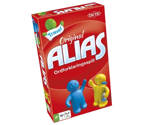 Tactic Alias, reisespill 1 stk