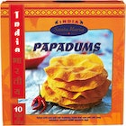 Papadums