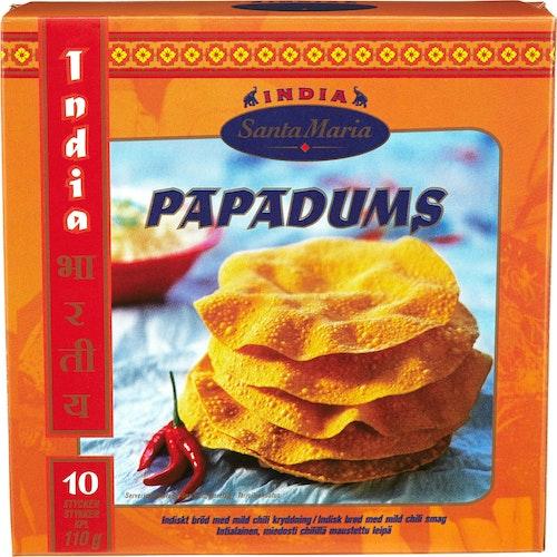 Santa Maria Papadums 110 g