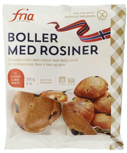 Fria Boller med rosiner 280 g