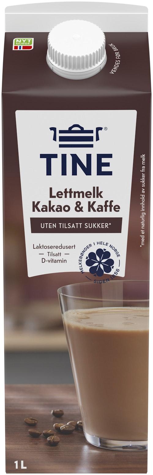 Tine Tinemelk med Kaffe og kakao, 1 l