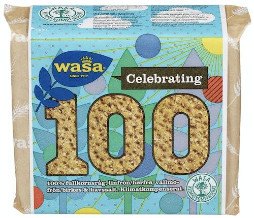 Wasa Wasa 100 Frø & Havsalt, 245 g