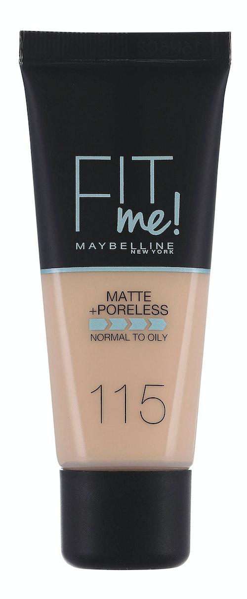 Maybelline Fit Me Matte & Poreless Ivory Foundation 1 stk