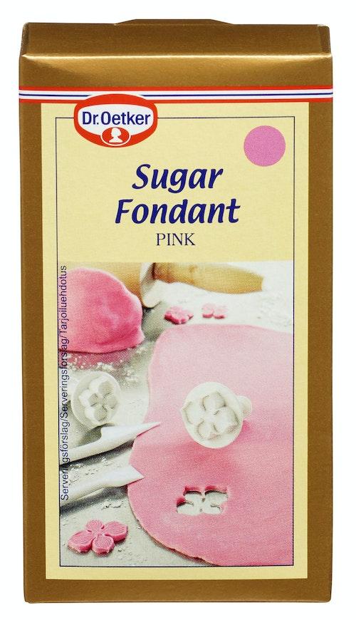 Dr. Oetker Rosa Sukkerfondant 250 g