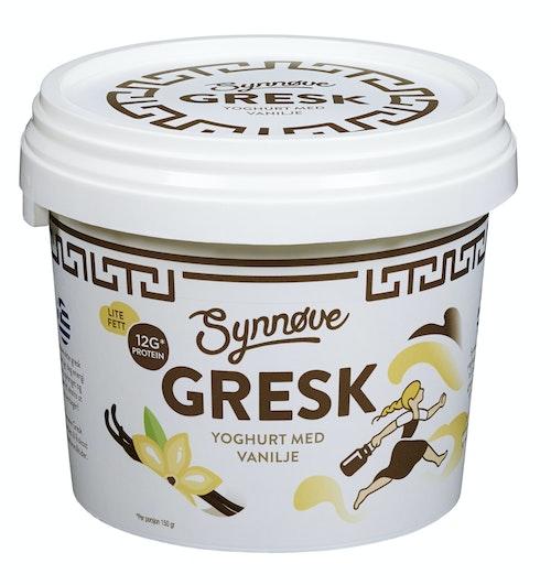 Synnøve Gresk Vanilje Yoghurt 750 g