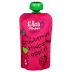 Jordbær Rabarbra + Eple