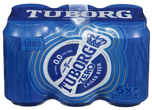 Tuborg Tuborg 0,0% 6 x 0,33l, 1,98 l