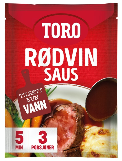 Toro Rødvinsaus Original 31 g