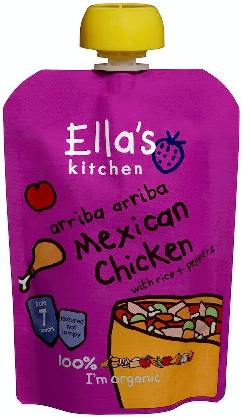 Ella's Kitchen Mexican Chicken Økologisk, Fra 7 mnd, 130 g