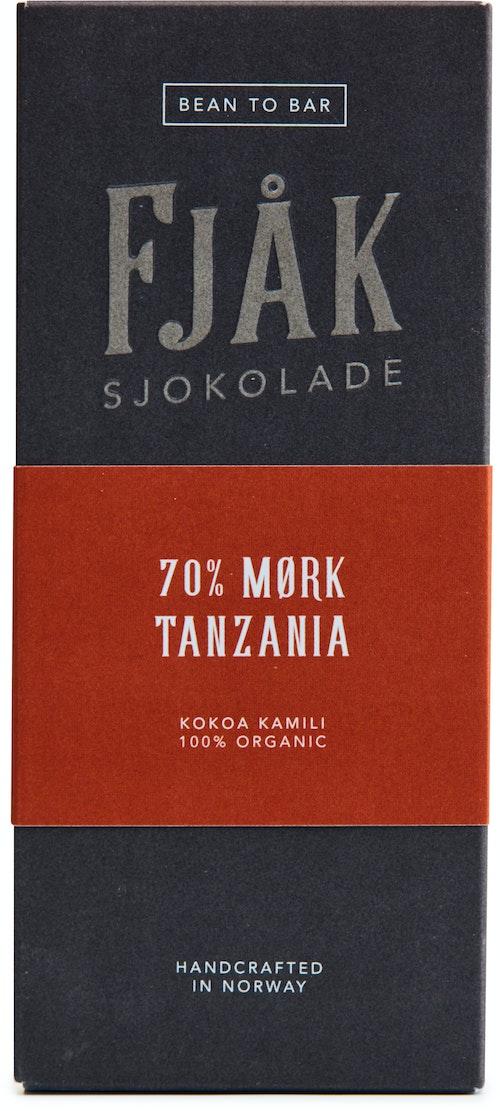 Fjåk Økologisk 70% Mørk Sjokolade Tanzania 53 g