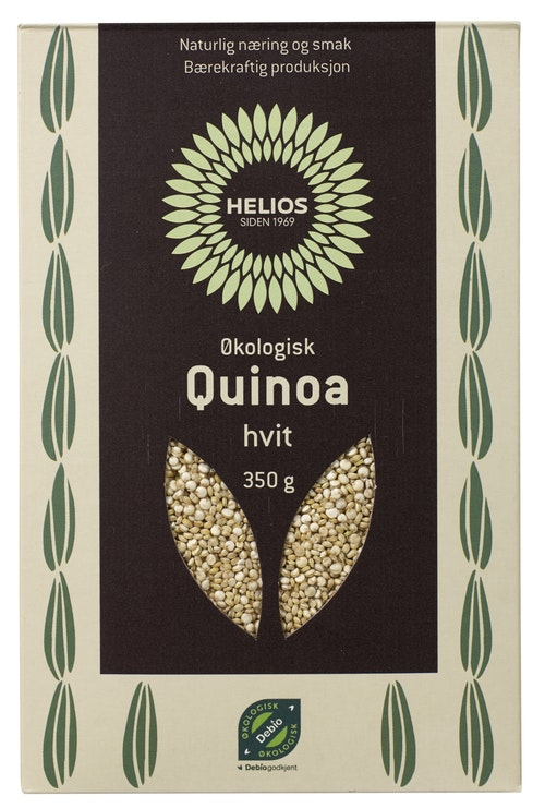 Helios Quinoa Hvit Økologisk, 350 g