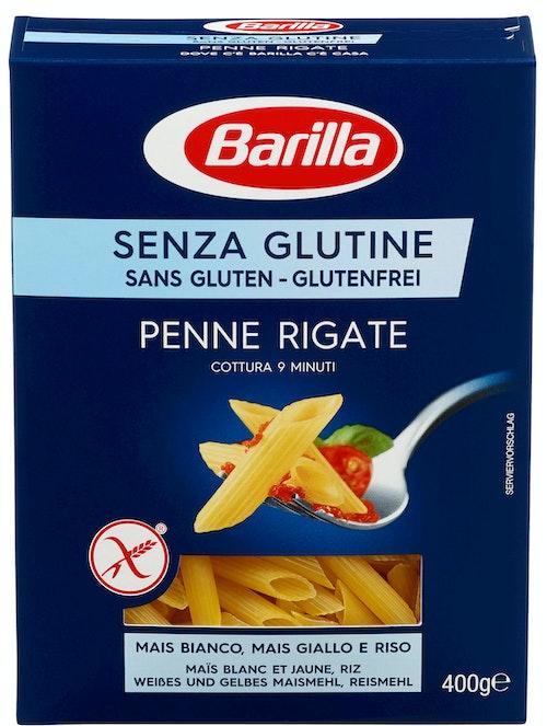 Barilla Penne Rigate Glutenfri, 400 g