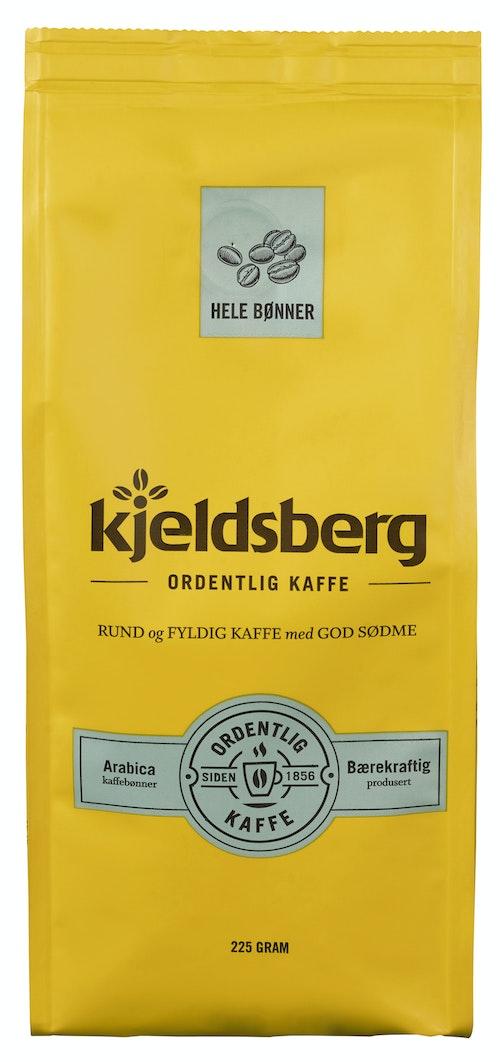Kjeldsberg Kaffebrenneri Kaffe Hele Bønner 225 g