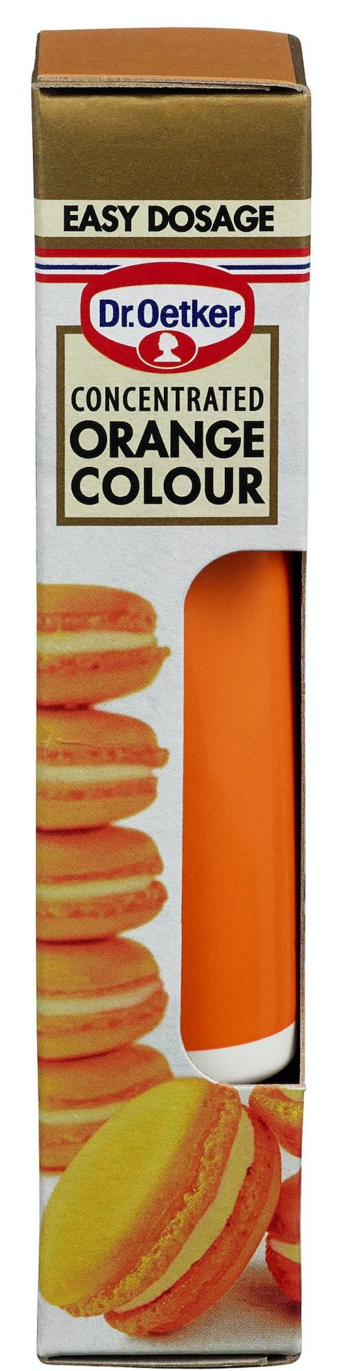 Dr. Oetker Oransje Geléfarge Konsentrert, 15 g