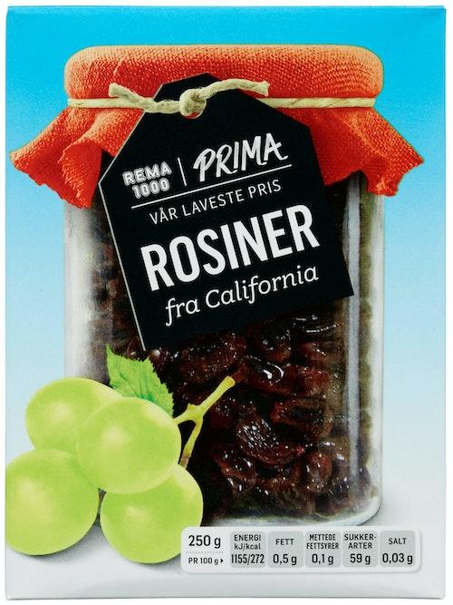 REMA 1000 Rosiner 250 g