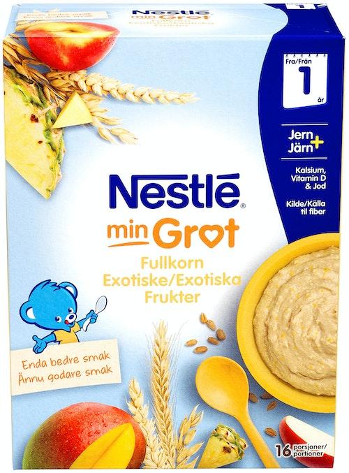 Nestlé Fullkorn Eksotiske Frukter Fra 1 år, 480 g