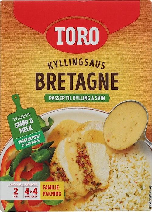 Toro Bretagne Kyllingsaus Familiepakke 4 stk