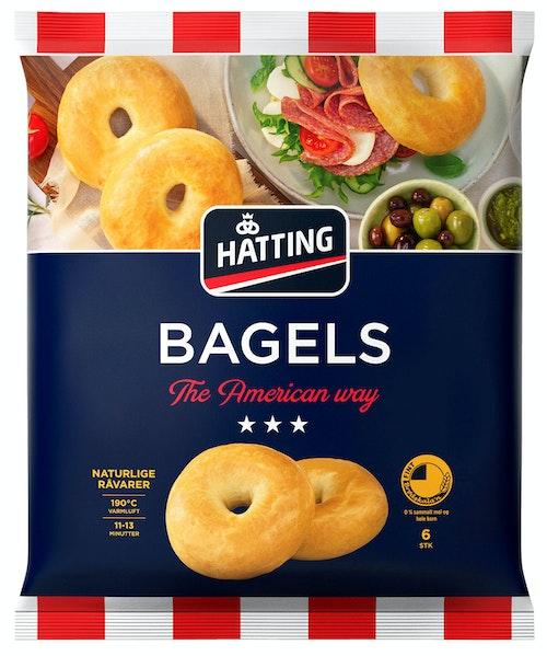 Hatting Bagels 6 stk, 510 g