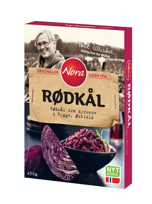 Nora Rødkål 450 g