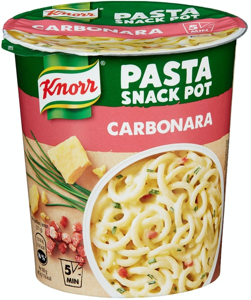 Knorr Pasta Carbonara Smårett i Kopp, 71 g