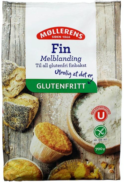 Møllerens Fin Melblanding Glutenfri, 700 g