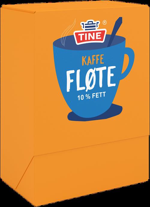 Tine Kaffefløte Kuvert 100 x 10ml, 100 stk