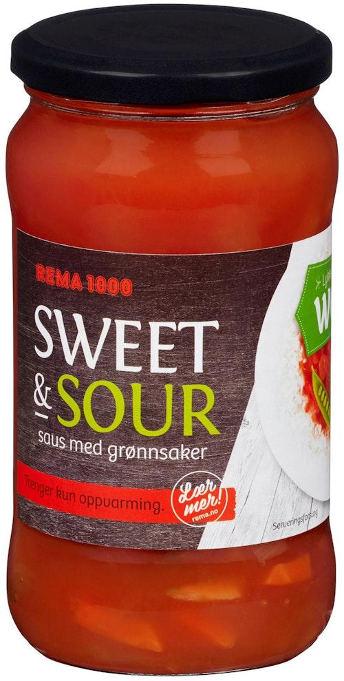 REMA 1000 Sweet & Sour Saus 500 g
