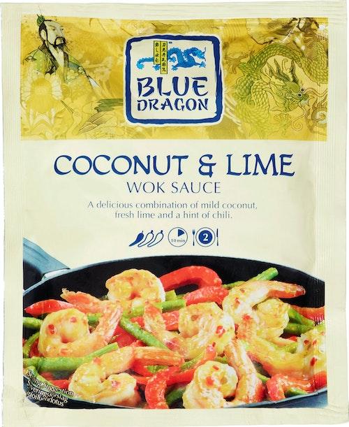 Blue Dragon Woksaus Coconut & Lime 120 g