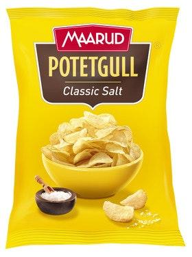 Maarud Potetgull Classic Salt 250 g