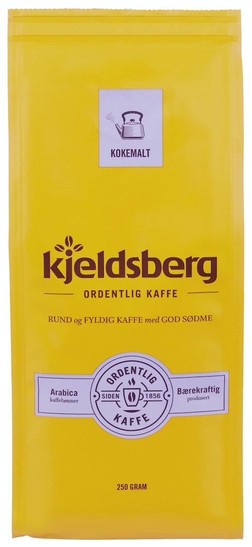 Kjeldsberg Kaffebrenneri Kaffe Kokemalt 250 g