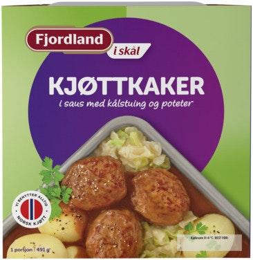 Fjordland Fjordland Kjøttkaker med kålstuing 491 g