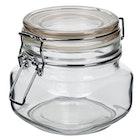 Glasskrukke med lokk 1,0l