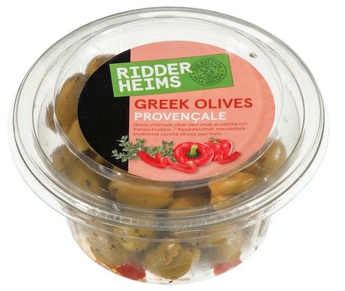Ridderheims Greske oliven Provencale 150 g
